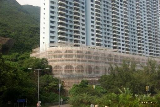Как строят в Гонг-Конге или строительные леса