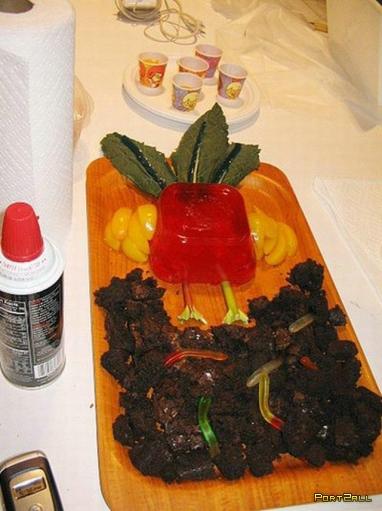 Фото с кулинарных соревнований по Желе. Фото креатива из желе.