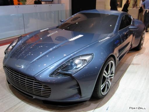 Большие фото Aston Martin One-77.