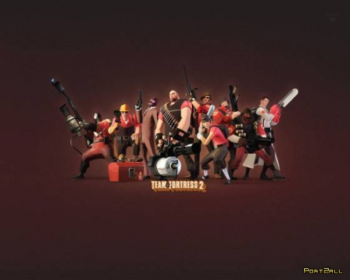 Арт и обои на тему Team Fortress 2