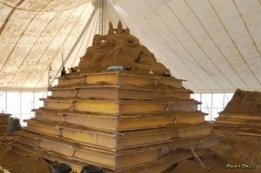 Самая большая скульптура из песка! Крупнейшая скульптура из песка!