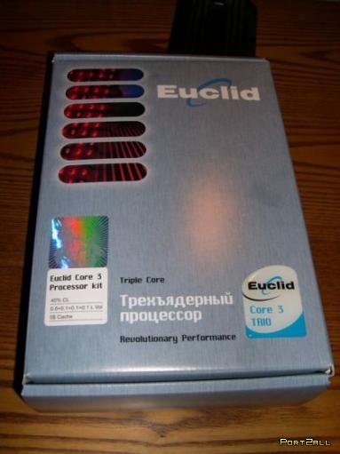 Трехядерный процессор Euclid Core 3 Trio