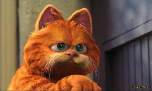 Гарфилд. Кот, герой мультфильмов - Гарфилд