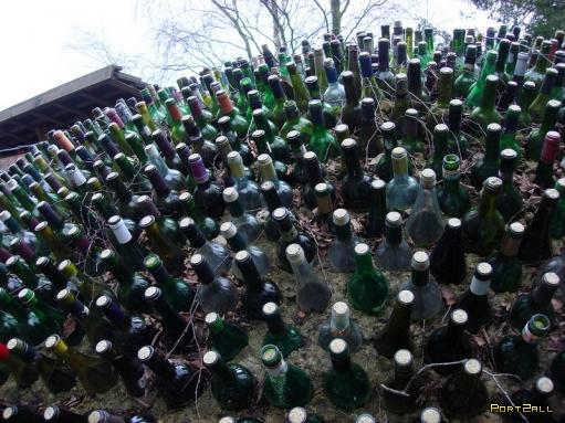 Использование пустых бутылок - 13 способов. Куда деть пустые бутылки?