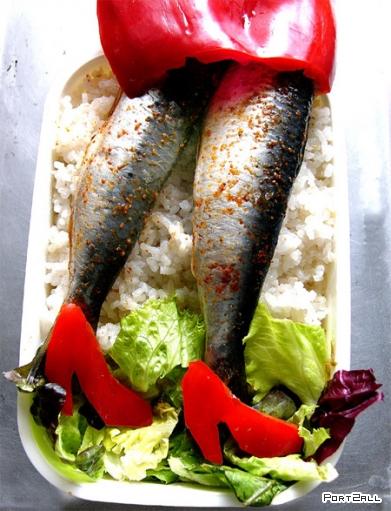 Креативная пища. Креативная еда. Креативные фото еды.