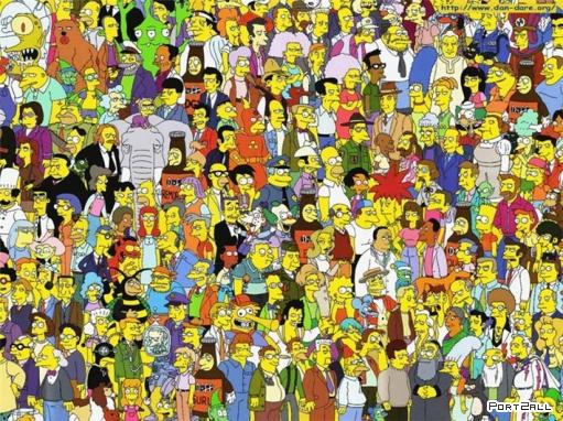 Бинг рекламируют Симпсоны. «Симпсоны» будут рекламировать поисковик Bing.