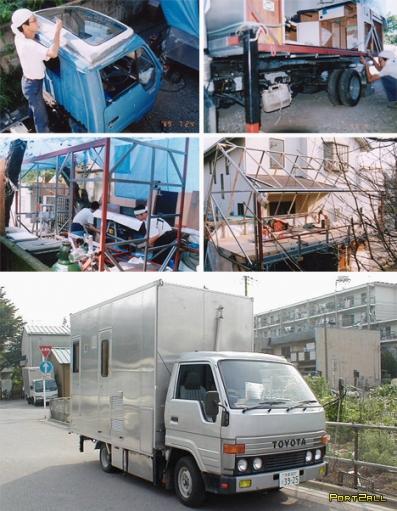 Японский дом на колесах. Домомобиль в видении японцев.