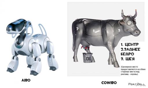 Весенняя сенсация от Зорьки - ваша реклама на коровах!
