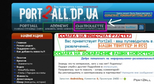 Обзор видеочата-рулетки на Port2all. ChatRoulette on Port2all.