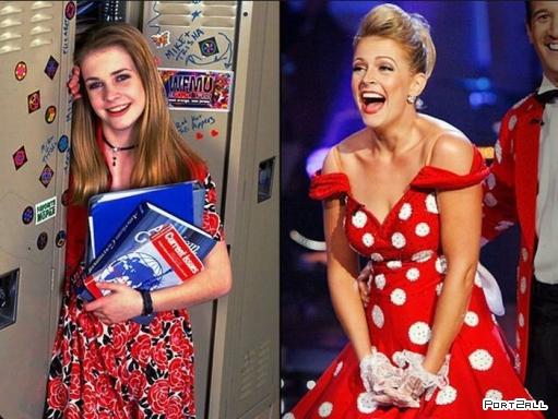 Знаменитости в детстве и сейчас. Детские фото знаменитостей.