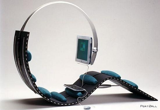 Кушетки креативные кресла и