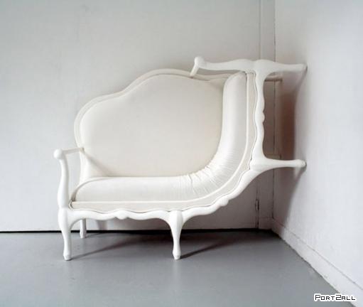 Необычные кушетки, креативные кресла и оригинальные стулья.