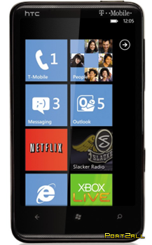 Windows Phone 7. Телефоны WP7