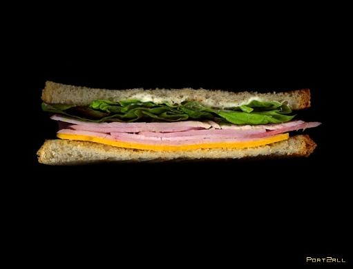Отсканированные сэндвичи в проекте Scanwiches от Джона Чонко (Jon Chonko)