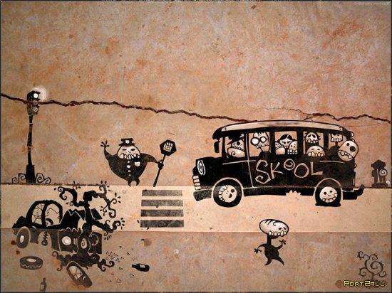 "Креативщик Ричард Вермаак (Richard Vermaak) ""Загадочные герои улиц"" | Skelewags"
