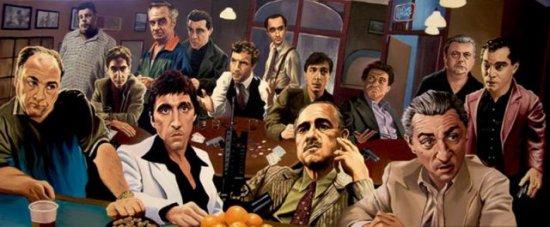 Картины Джастина Рида на основе известных фильмов :)