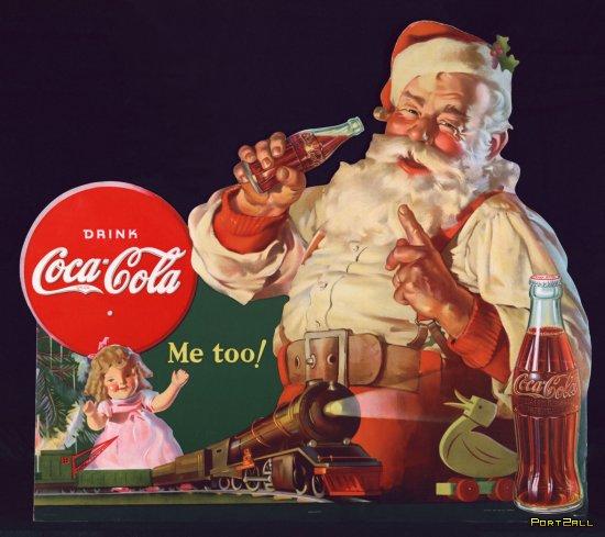 """Интересные факты о Coca-Cola. Все слоганы """"Кока-Кола"""". Санта - творение Кока-Колы. Напиток, который покорил мир!"""
