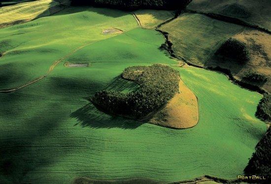 Фотографии с высоты птичьего полета (часть 1)| Фотограф Ян Артюс-Бертран (Yann Arthus-Bertrand).