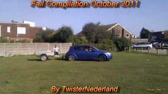 Фейлы за октябрь 2011 | Fail Compilation October 2011