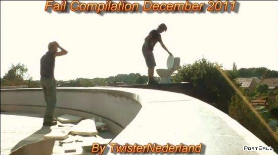 Фейлы за декабрь 2011 | Fail Compilation December 2011