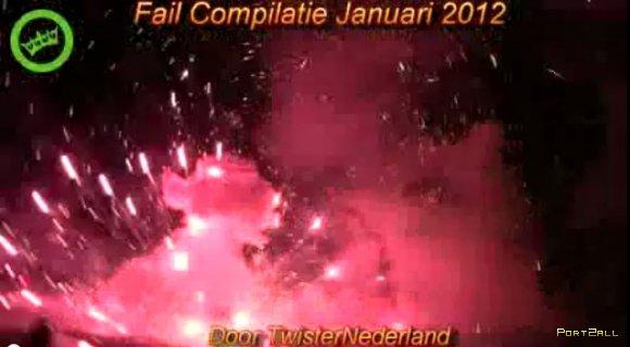Фейлы за Январь 2012 | Fail compilation January 2012 || TNL