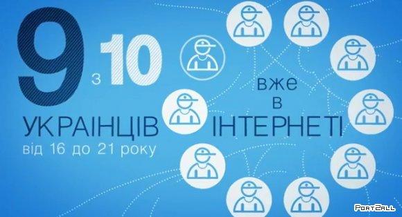 """""""Українська інтернет-революція"""" - видео-инфографика про Украину и украинцев в интернете."""