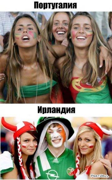 Футбольные няшки :D Евро2012 | Красивые футбольные болельщицы