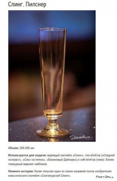 Виды бокалов и их применение. Какие бывают бокалы?