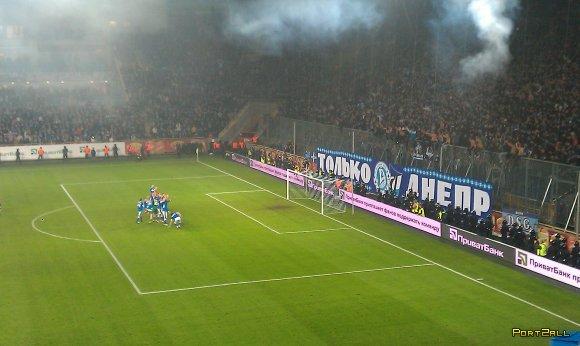 ФК Днепр 2 - 0 ФК Металлист 3.11.2012 (Фото+видео)