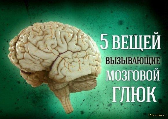 Пять повседневных вещей, которые вызывают у нас «мозговые глюки»