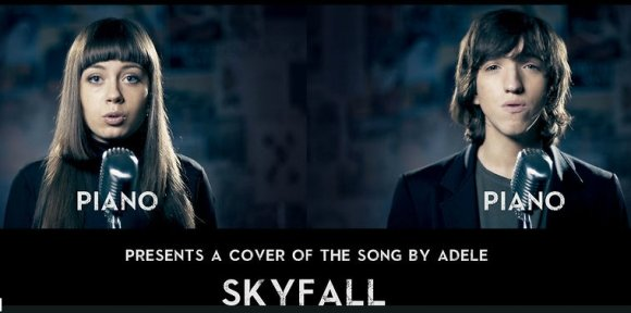 Skyfall (Adele) - Acapella Cover by Mary Sazonova & Tikhon L.