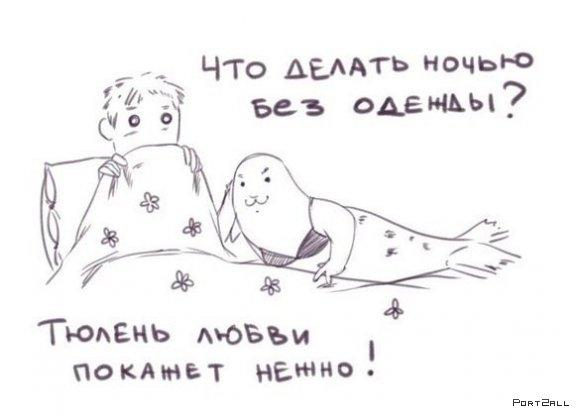 Тюлень любви!