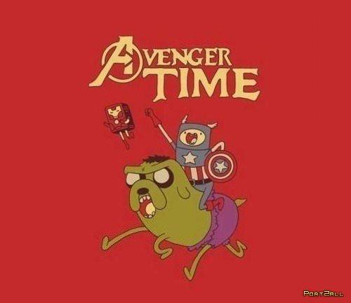 AdventureTime. Avengers