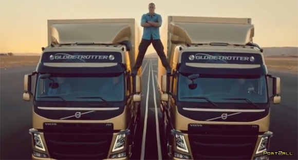 Van Damme - Zero Gravity Split. Ван Дамм - шпагат в невесомости.