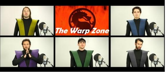 Квинтет The Warp Zone исполнил главную музыкальную тему Mortal Kombat