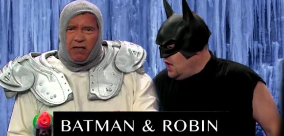 Карьера Арнольда Шварценеггера за шесть минут с Джеймсом Корденом на The Late Late Show