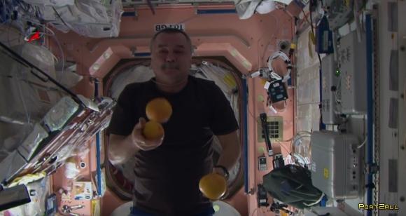 Космоцирк на орбите! Клоуны на МКС. Space Circus on ISS.